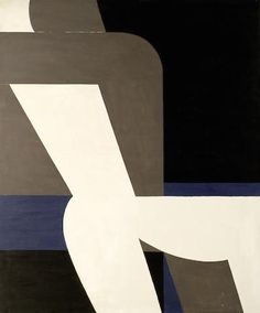 'Erotic' by Greek artist Yannis Moralis (1916-2009). Acrylic on canvas, 147 x 124 cm. via Bonhams