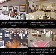 Dornan's house in the Cotswolds. Photo