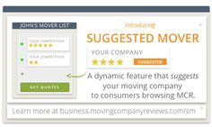 Introducing Suggested Mover