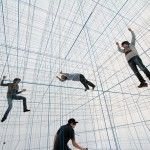 What the heck? So scary! A Massive Inflatable String Jungle Gym by Numen/For Use