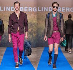 J.Lindeberg 2014 Spring Summer Mens Runway Collection - Mercedes-Benz Fashion Week Stockholm Sweden Vår Sommar: Designer Denim Jeans Fashion: Season Collections, Runways, Lookbooks and Linesheets