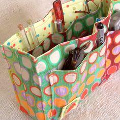 DIY Fabric Organizers | SALE DIY Purse Organizer Kit Double Dare Ya by SweetbriarStudio