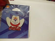OLYMPIC COCA-COLA SALT LAKE CITY 2002 HAT LOGO NEW IN PACKAGE !!!!!!!!