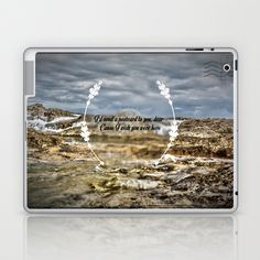 Oh darling, I wish you were here Laptop & iPad Skin by Sarah Zanon - $25.00