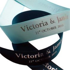 personalised ribbon - Google Search