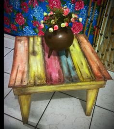 Móveis feitos a partir de pallets ... Criativos e sustentáveis