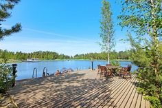 Terrace, Pergola, Cottage, Beach, Water, Outdoor Decor, Summer, Iso, Home