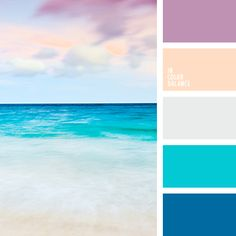 pink and blue color inspiration