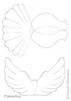 DIY Paper Dove With Printable Template ! – DIY real