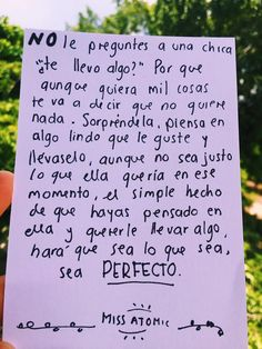 Es verdad... Un detalle, por simple q sea, es perfecto!