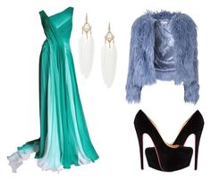 """Celebraciones"" by rubenparra on Polyvore featuring Monique Lhuillier and Glamorous"