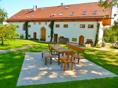 Hagerhof Eggst�tt Offering a barbecue and views of the garden, the exclusive farm-style Hagerhof is located in Meisham in the Bavaria Region. Chiemsee is 7 km from the property.  Hagerhof offers cosy apartments.
