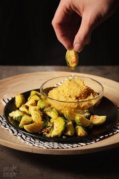 Ina Is(s)t: Im Ofen gerösteter Rosenkohl mit Avocado-Hummus - ...