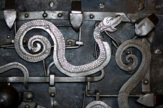 beautiful lock found in the lid of a chest, this time in Croatia.