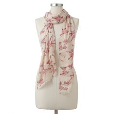 lc lauren conrad scarf {proceeds go toward the fight against breast cancer}