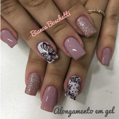 trend nail design inspiration picture - Page 47 of 109 47 Fabulous Nails, Perfect Nails, Gorgeous Nails, Nude Nails, Nail Manicure, Gel Nails, Neutral Nails, Creative Nail Designs, Toe Nail Designs