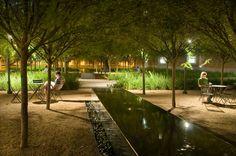 Brochstein Pavilion, Rice University | Landscape Architects: The Office of James Burnett | Architects: Thomas Phifer & Partners