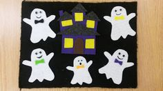 one little librarian: flannel friday: this little ghost