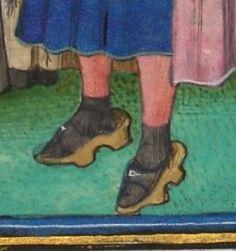 « Le livre appellé Decameron, autrement le prince Galeot surnommé, qui contient…socks with sandals,a fashion mistake that goes way back!
