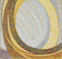 """František Kupka, Study for """"Cosmic Spring""""  (""""Printemps cosmique"""") and """"Amorpha, Fugue in Two Colors"""" (""""Amorphe, Fugue à deux couleurs""""), 1911–12. Gouache on board, 13 3/4 x 14 1/2 inches (34.9 x 36.1 cm)"""