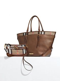 Classic Burberry bags