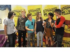 "'Lemonade Mouth"" greets fans at Downtown Disney"