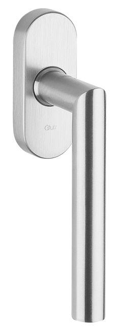 33002/51001 CF Stainless steel window handle Sliding Door Handles, Window Handles, Sliding Doors, Stainless Steel, Windows, Design, Decor, Technology, Sliding Door