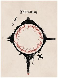 The Lord Of The Rings. This would make a cool tattoo I think