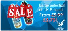 We stock a wide range of premium electronic cigarettes, garnishing and e liquid in packages to make your life easier when you've selected to make the move to E-Cigs. please visit website http://www.ecigandliquid.co.uk/