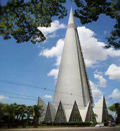 Cathedral of Maringa – Parana/Brazil;
