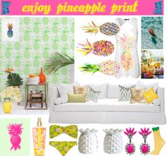 [home & fashion] Pineapple print. http://followingyourpassion.wordpress.com/2014/06/21/home-fashion-pineapple-print/