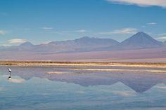 Licancabur volcano from the Salar de Atacama - Chile