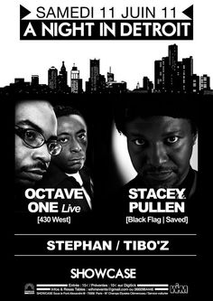 A Night In Detroit: Octave One - Live & Stacey Pullen at Showcase