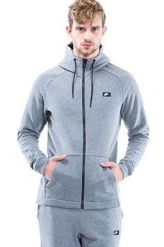 Nike Nsw Modern Hoodie Fz Bb Erkek Gri Çeket Giyim - 835858.091-29130623