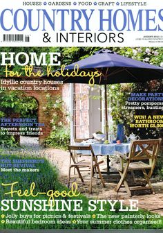 Country Homes & Interiors magazine August 2012 Featured: Lifestyle bed in natural reclaimed teak