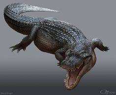 Rjpalmer Deinosuchus 001 By Arvalis-d9xroj1 by arvalis