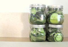 easy refrigerator pickles #homemade #recipe