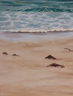 Seascape Painting - Ann Steer - Shallow Waters