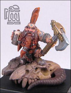 Pint-slayer::Gallery::Full Borer Miniatures - Hey this guy has a beer mug!!