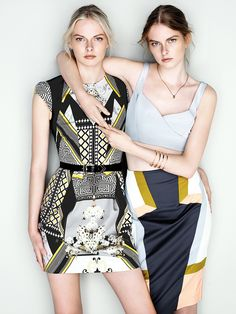 There is only one Cue  Summer.13 starring Elza and Vera #ethicalfashion #onlylovecan #fashionhope