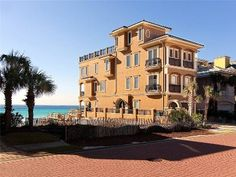 Destiny By The Sea House Rental: Spectacular Beach Front Home W/movie Theater & Rooftop Deck W/hot Tub, Sleeps 10 | HomeAway