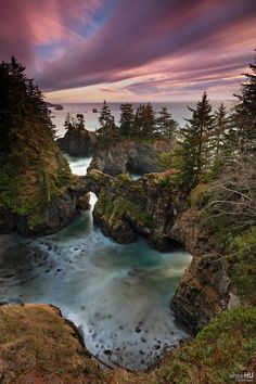 Samuel H. Boardman State Scenic Corridor  (parque nacional linear na costa do Oregon! super legal!! lindo!)