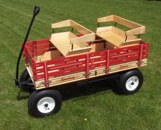 Deluxe Maple Wooden Wagon Seat For the 500 Series Wagon