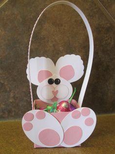 Punch Art Bunny Basket