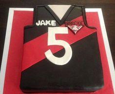 ALF Bombers jersey cake