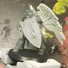 Warhammer Art, Warhammer Models, Warhammer 40k Miniatures, Warhammer 40000, Warhammer 40k Blood Angels, Future Soldier, The Grim, Space Marine, Marines