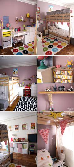 Sparer Une Chambre Pour  Enfants Avec Un Lit Superpos  Appart
