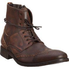 John Varvatos Fleetwood Ankle Boot in Brown for Men  5c6924f63
