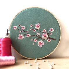 Charity Sewing Idea – How To Generate A Garment Address – By Zazok Japanese Embroidery, Modern Embroidery, Embroidery Hoop Art, Flower Pattern Drawing, Embroidery Flowers Pattern, Hand Embroidery Videos, Hand Embroidery Stitches, Diy Embroidery Designs, Embroidery Supplies