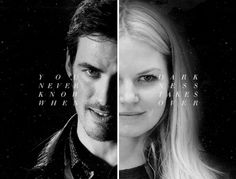 """You never know when darkness takes over."" #CaptainSwan"